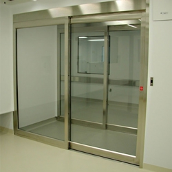 Cleanroom ISO 5 Slide Doors