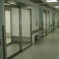 Cleanroom ISO 3 Slide Doors