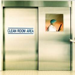 Cleanroom Sterile Cladded Slide Doors